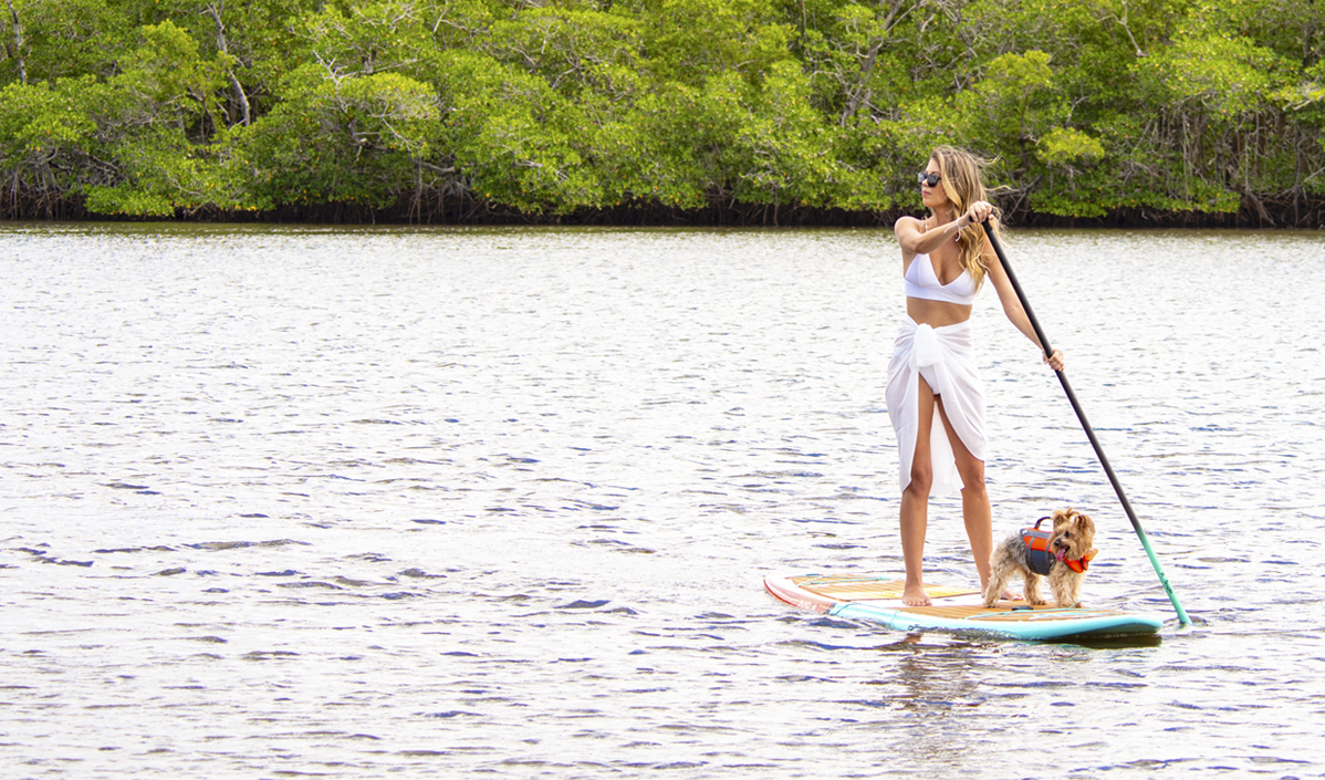 water-paddle-board